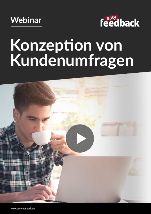 Webinar Konzeption Kundenumfrage